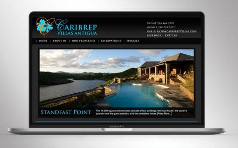 Caribrep Villas - Villa Rentals Antigua Caribbean