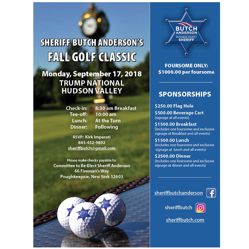 Sheriff Butch Anderson Golf Outing
