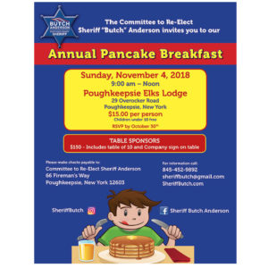 Sheriff Butch Anderson Pancake Breakfast