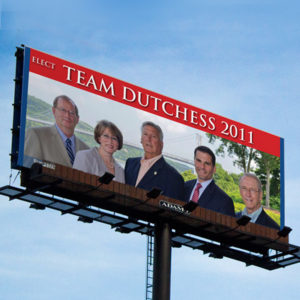 Team Dutchess Billboard